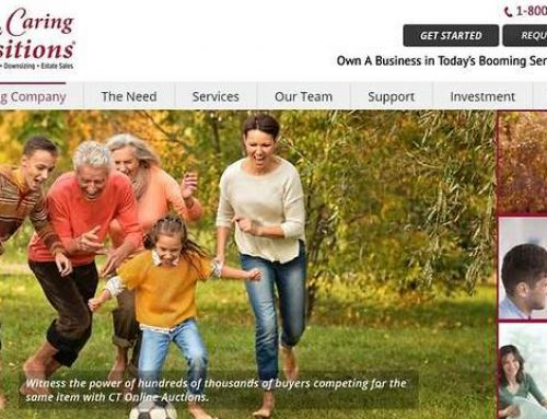 Caring Transitions Franchise Launches New Website