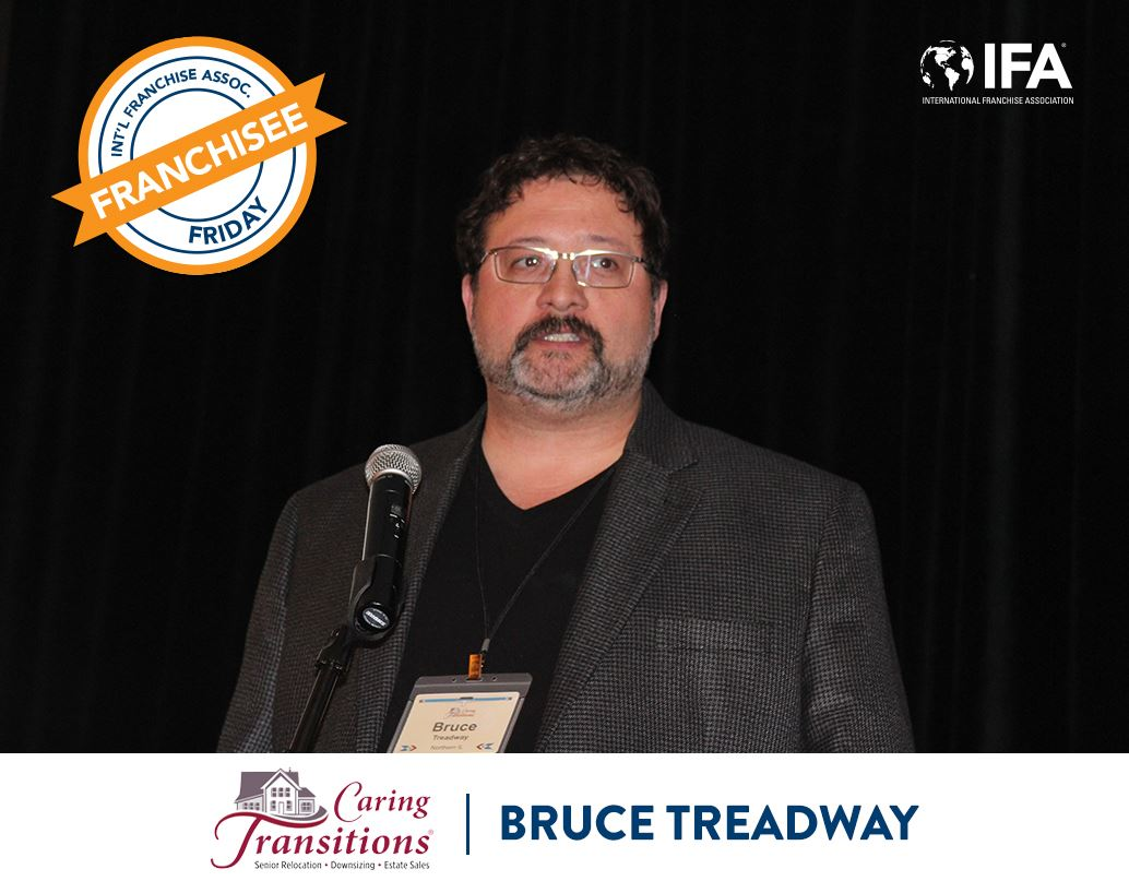 Bruce Treadway of Caring Transitions Featured in IFA Franchise Friday